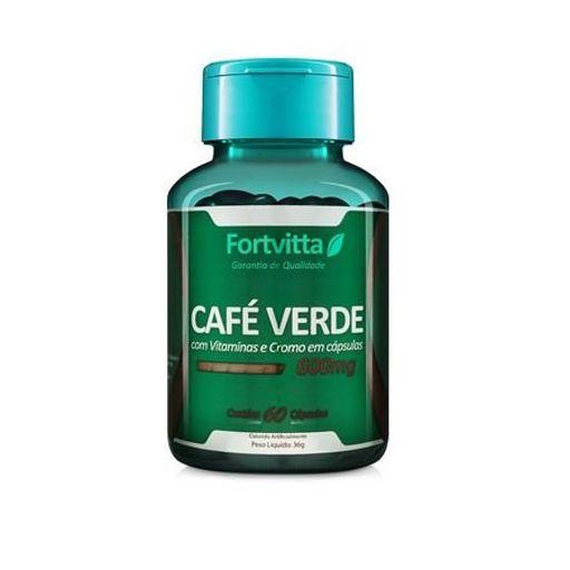 CAFE VERDE COM VITAMINAS E CROMO