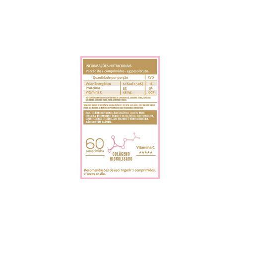 Colágeno + Vitamina C - 120 comp. 1000mg