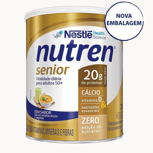 Nutren Senior Sem Sabor - 370g
