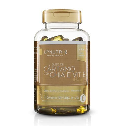 Óleo de Cártamo + Chia - 120 cap. - 1000mg