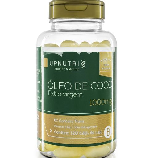 OLEO DE COCO - 120 CAPSULAS 1000MG