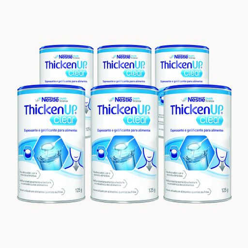 Thicken UP Clear 125g - Kit 06 unidades