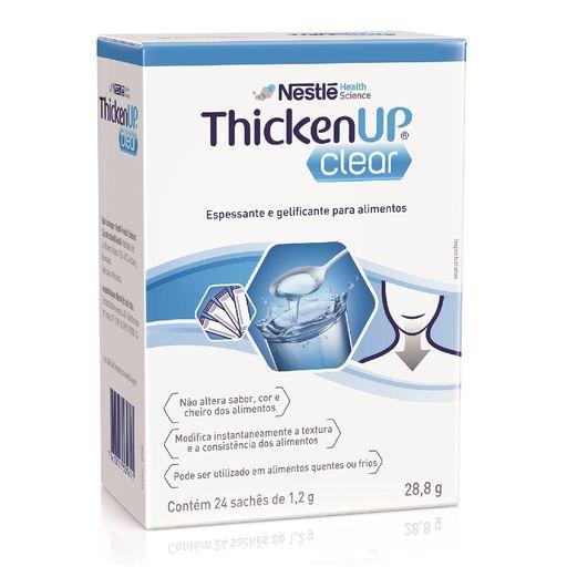 Thicken UP Clear Sachê - 1,2g Caixa com 24 sachês