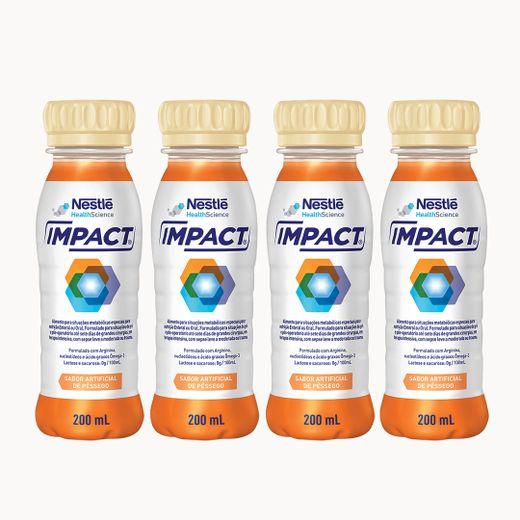 Impact Pessego 200ml - Kit 04 unidades