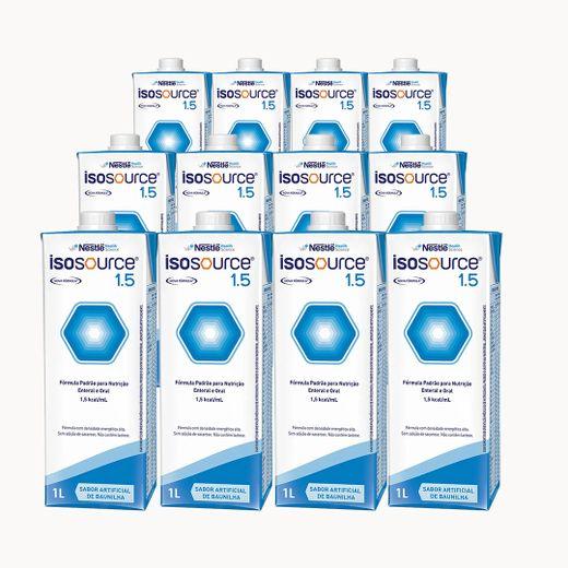 Isosource 1.5 Baunilha - Kit 12 unidades
