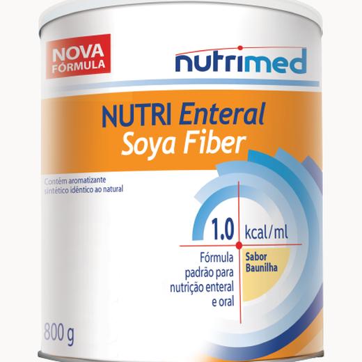 Nutri Enteral Soya Multi Fiber Baunilha - 800g