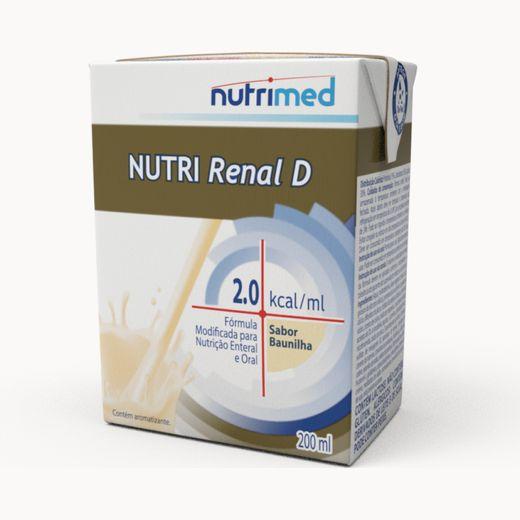 Nutri Renal D 2.0 Baunilha - 200ml