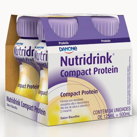Nutridrink Compact Protein Baunilha - 125ml
