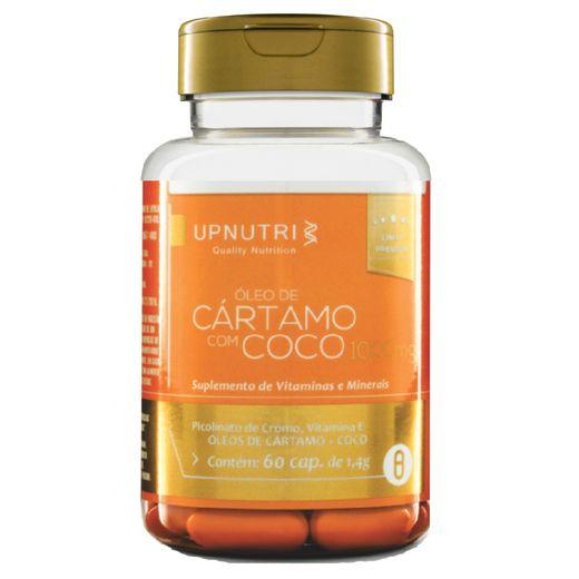 Óleo de Cártamo + Coco - 60 cap. - 1000mg