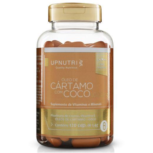 Óleo de Cártamo +Coco - 120 cap. - 1000mg