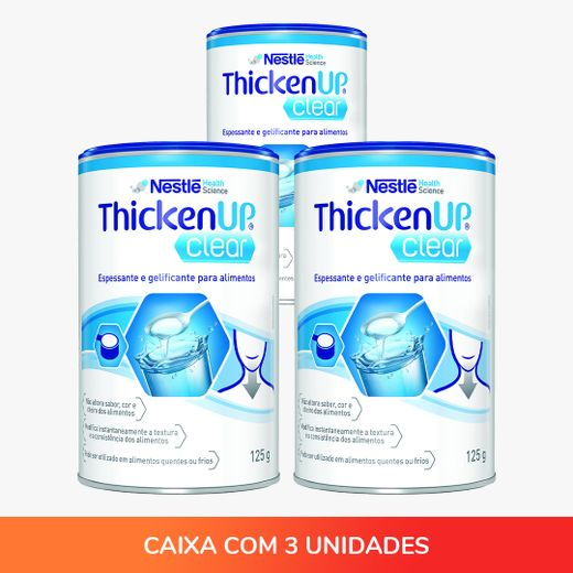 Thicken UP Clear 125g - Kit com 03 unidades