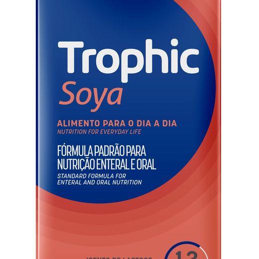 Trophic Soya Baunilha - Kit 12 unidades